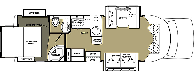 2800QS Floorplan